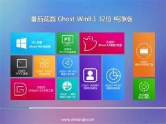 番茄花园Windows8.1 32位 精选纯净版 2021.